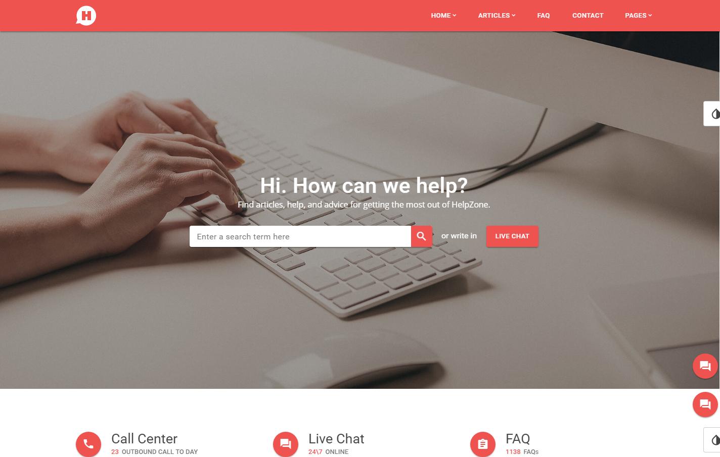 helpzone-premium-html-template