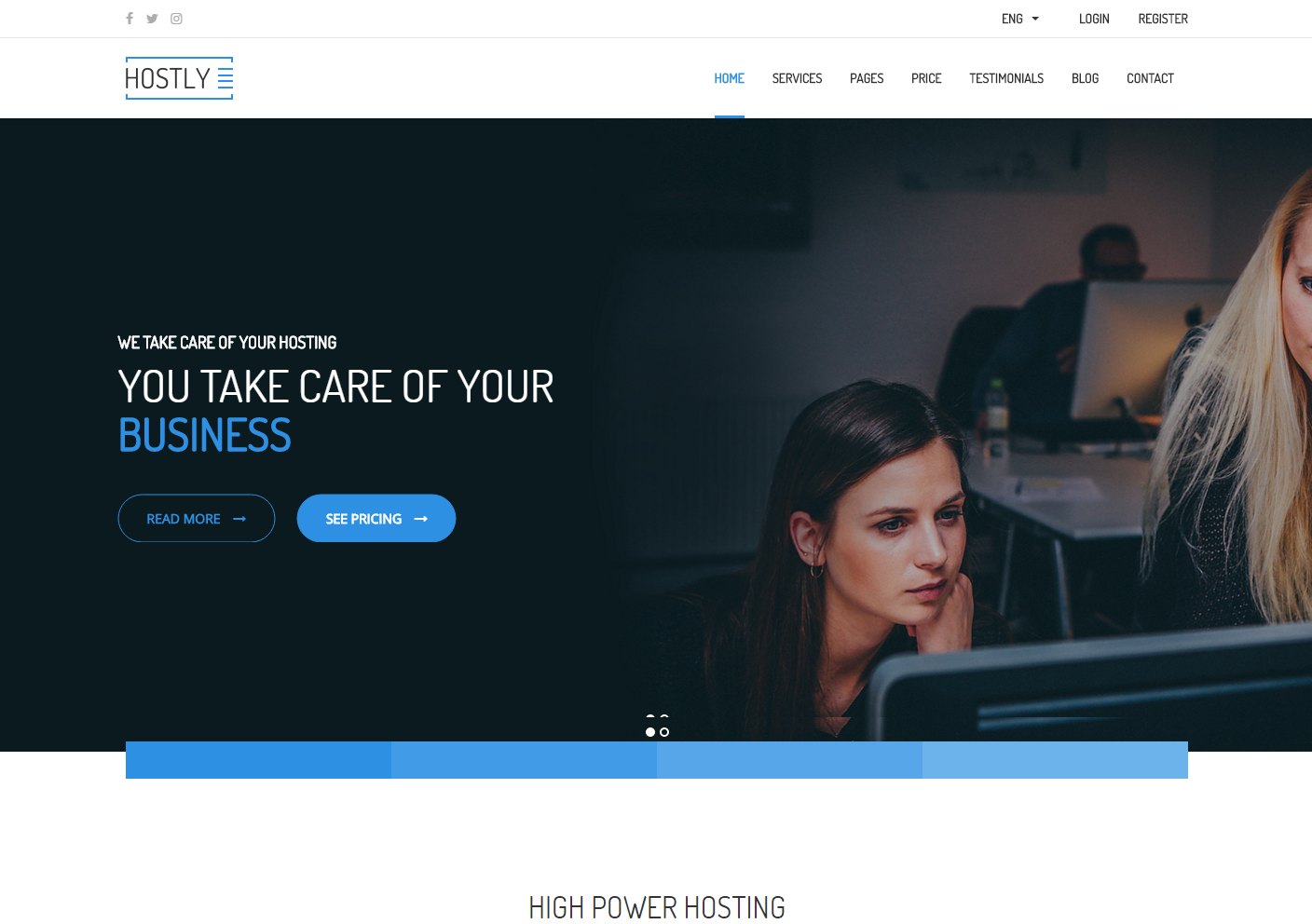 hostly-premium-html-template