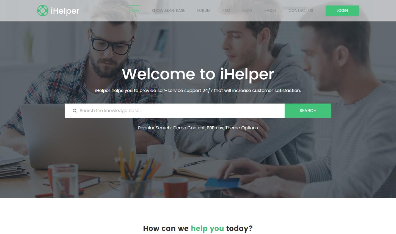 ihelper-premium-html-template