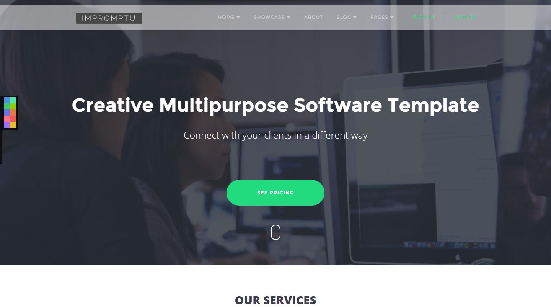 impromptu-premium-html-template