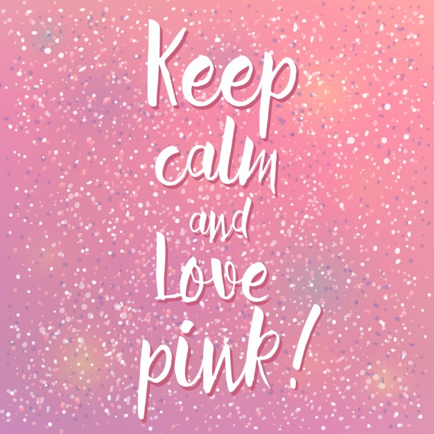keep-calm-and-love-pink-free-vector