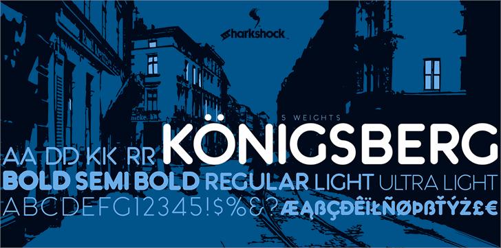 konigsberg-free-font