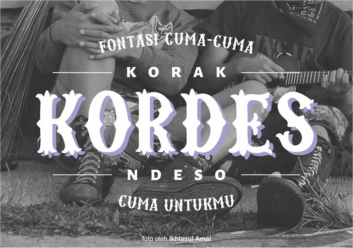 kordes-free-font
