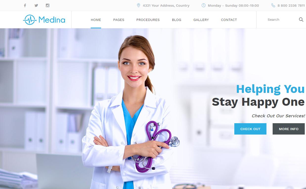medina-premium-html-template