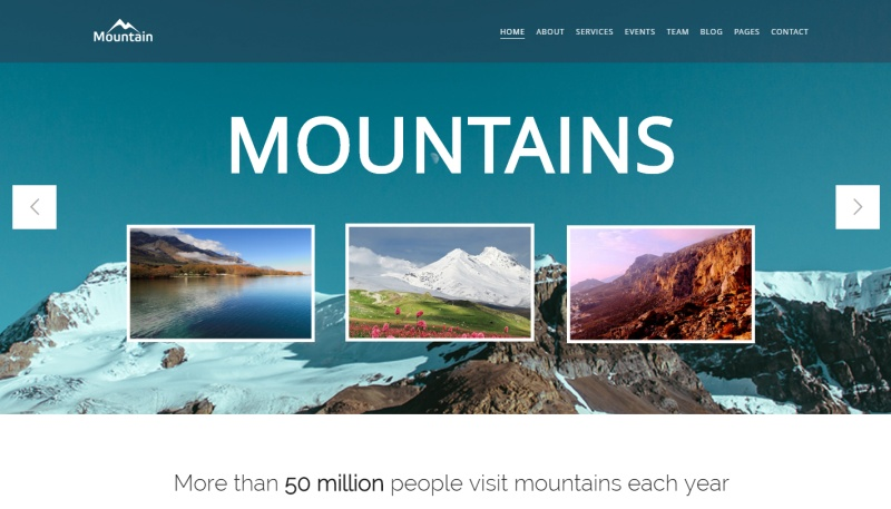 mountain-premium-wordpress-theme