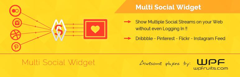 multi-social-widget-free-wordpress-plugin