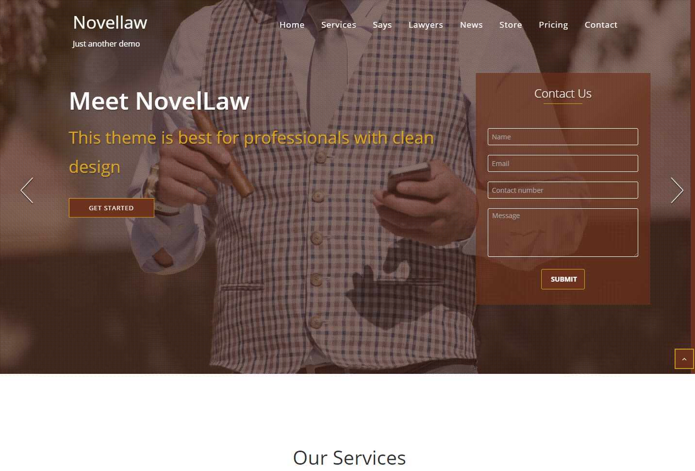 novellaw-free-wordpress-theme