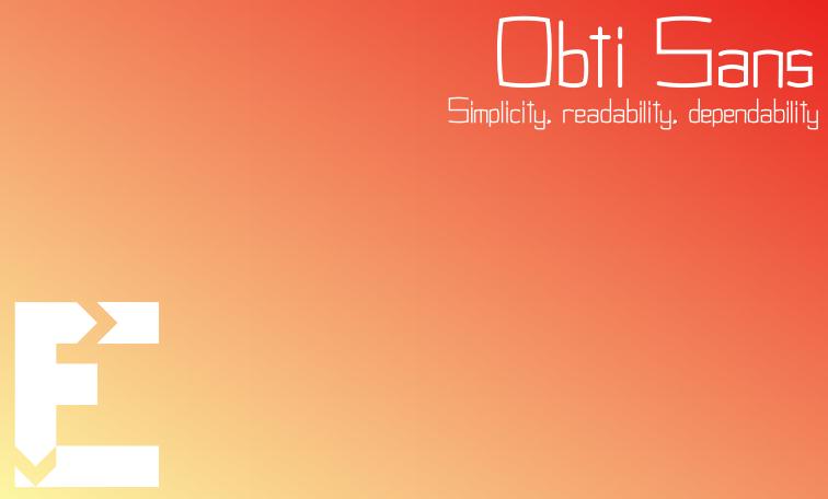 obti-sans-free-font
