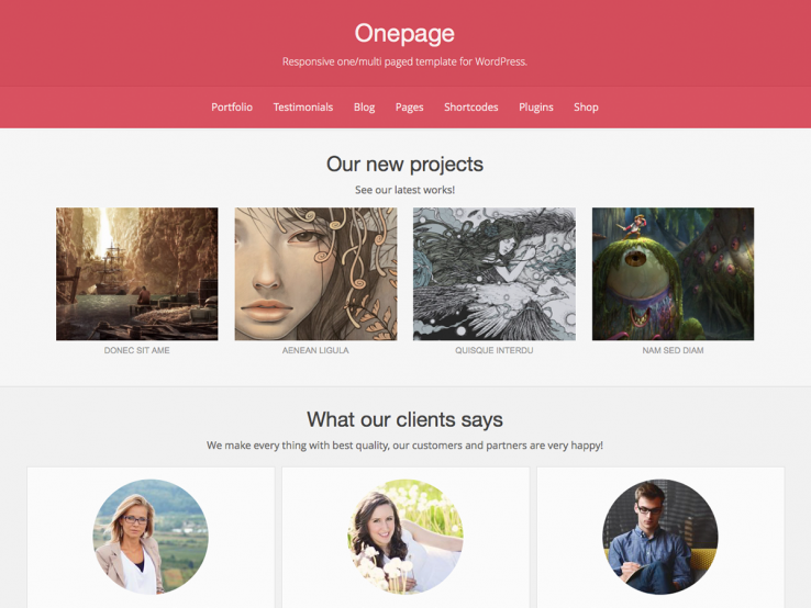 onepage-free-wordpress-theme