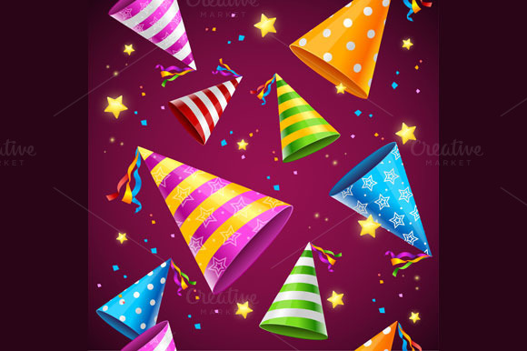 party-hat-premium-background-patterns