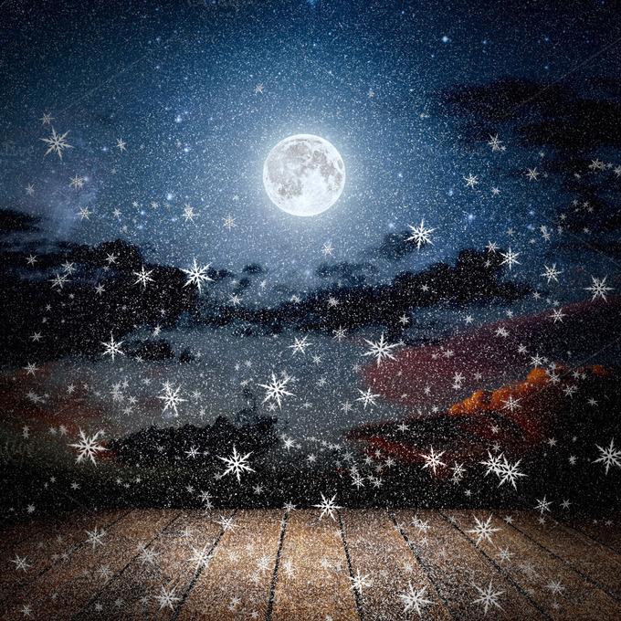 premium-backgrounds-night-winter-sky