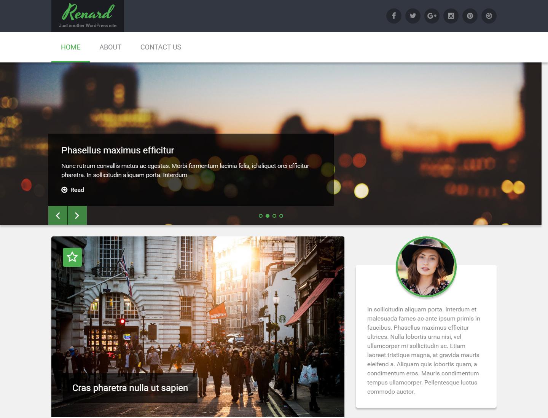 renard-free-wordpress-theme