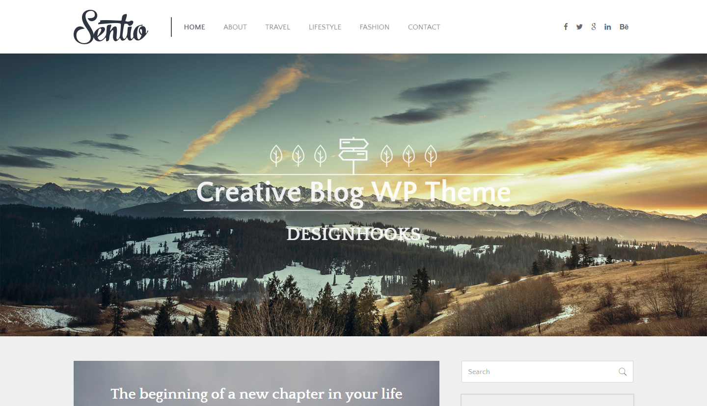 sentio-free-wordpress-theme