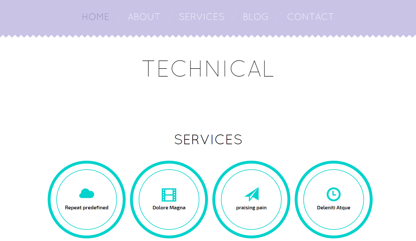 technical-free-html-template