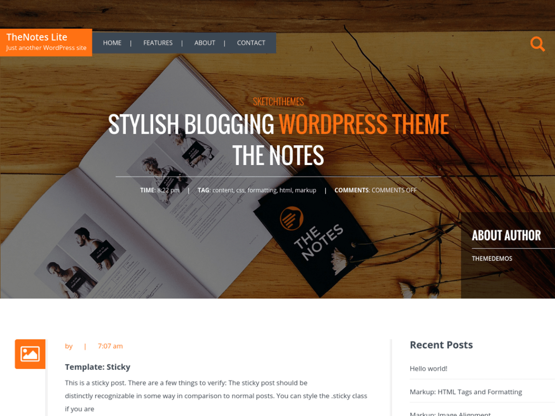 thenotes-lite-free-wordpress-theme