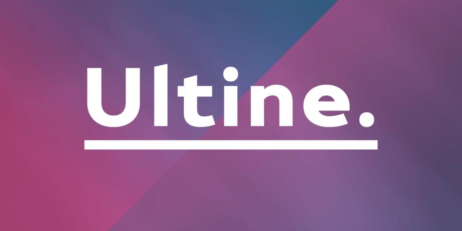 ultine-premium-font