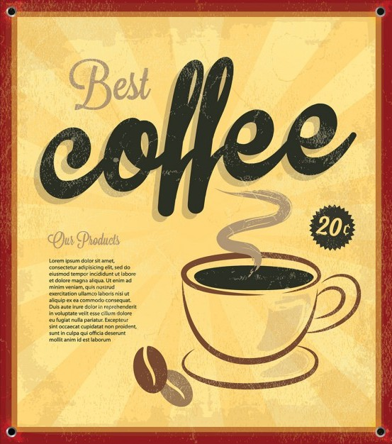 vintage-coffee-free-background