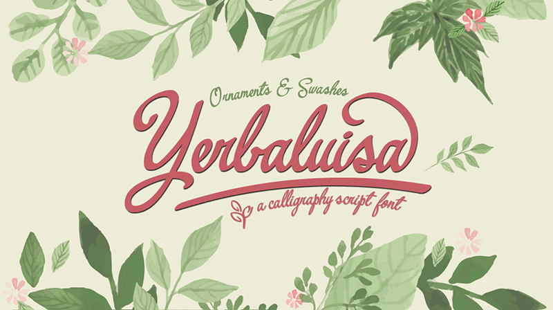 yerbaluisa-free-font