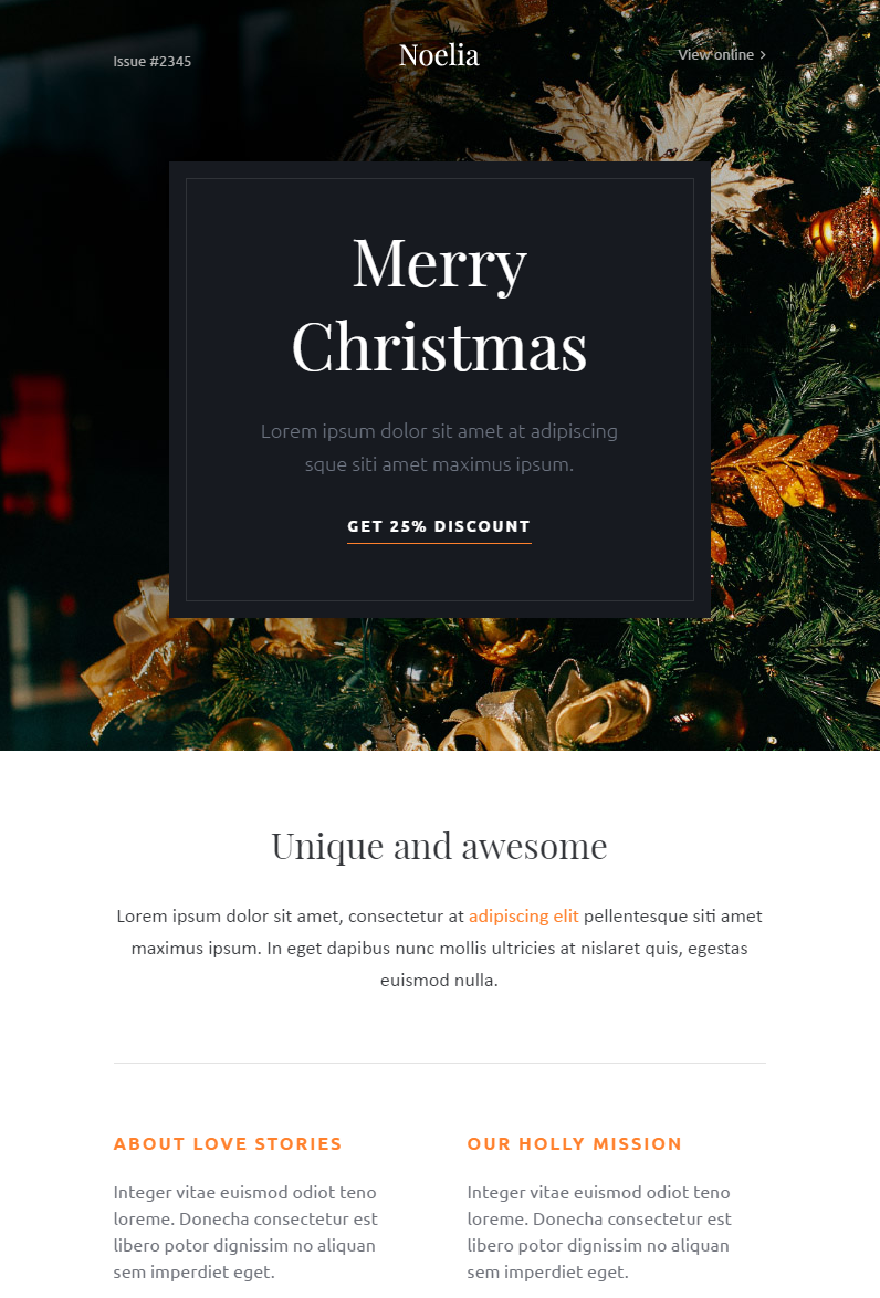 Christmas - Email Templates Set + Kbuilder 1.2