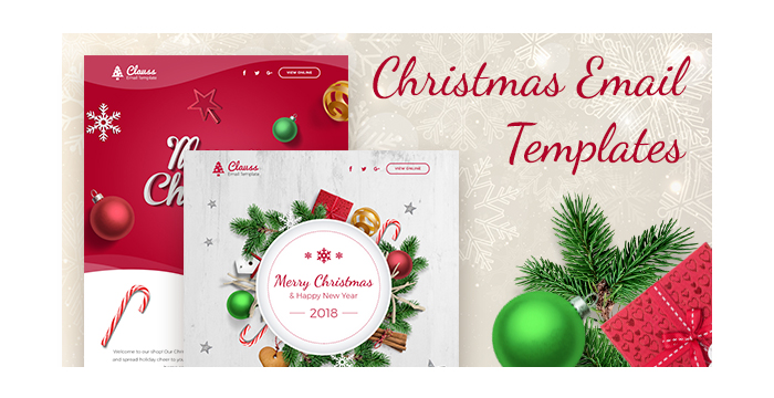 christmas email templates for holiday mailing
