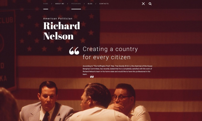 american-politician-premium-wordpress-theme