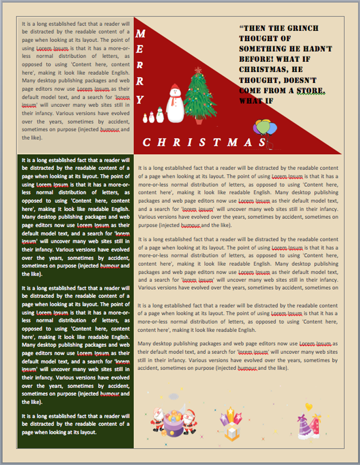 christmas-newsletter-2-free-email-template