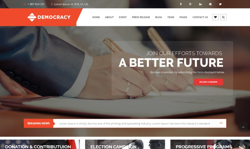 democracy-premium-wordpress-theme