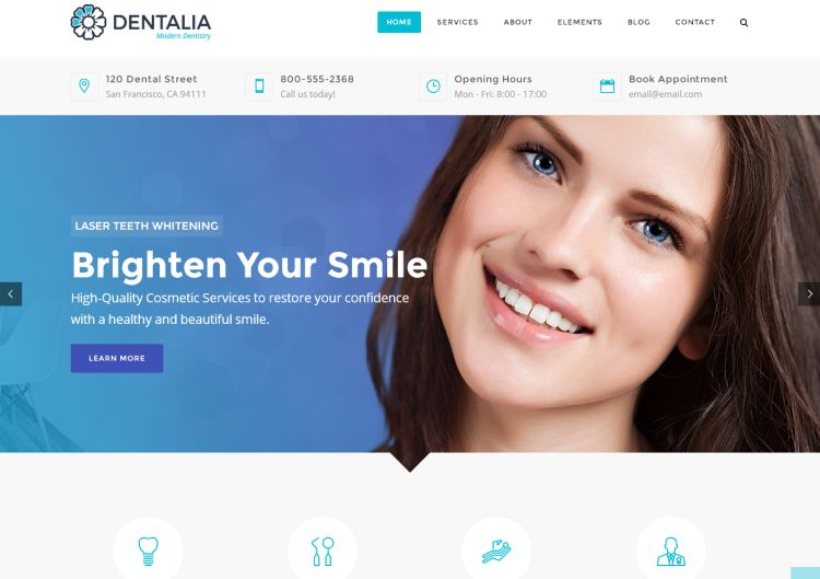 dentalia-premium-wordpress-theme