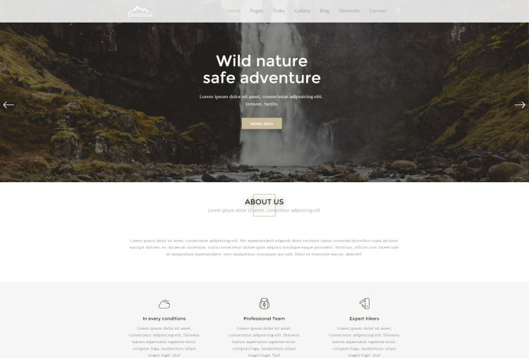 dolomia-premium-html-template