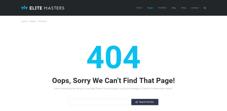 elitemasters-404-page-template