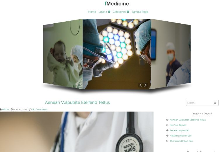 fmedicine-free-wordpress-theme