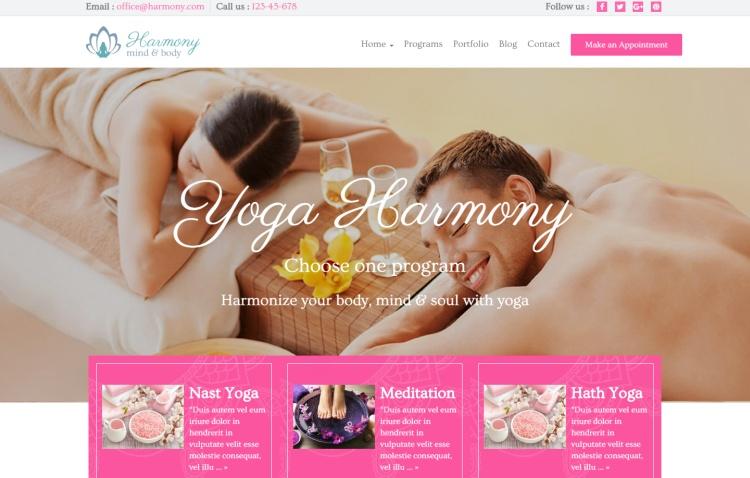 harmony-spa-yoga-premium-wordpress-theme