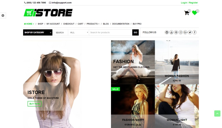 istore-free-wordpress-theme