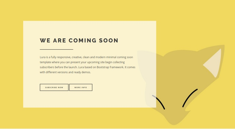 lura-premium-coming-soon-page-template