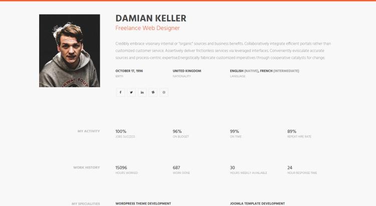 myprofile-premium-personal-resume-template