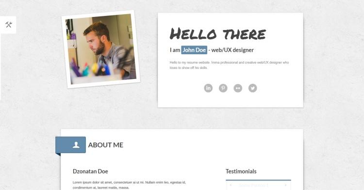 myresume-free-resume-page-template