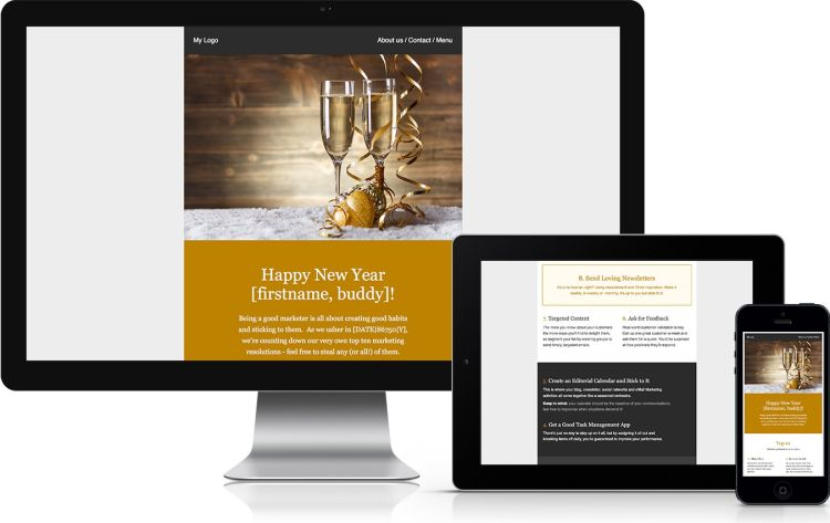 newyears-gold-free-email-template