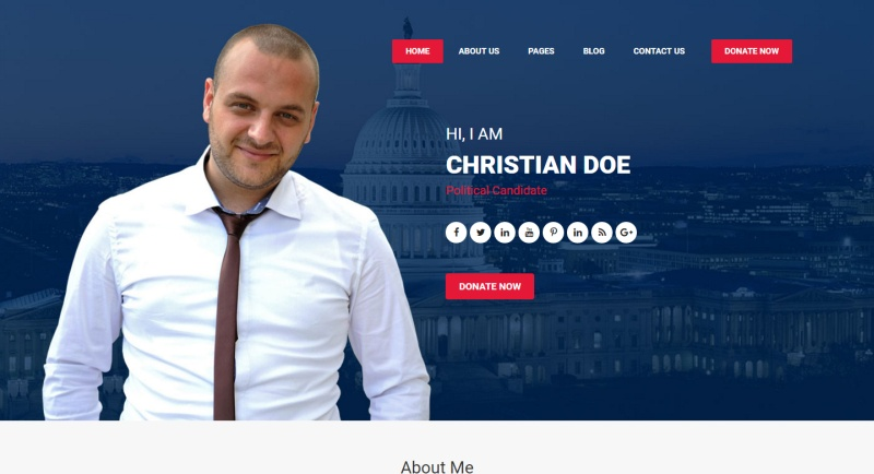 political-candidate-premium-wordpress-theme