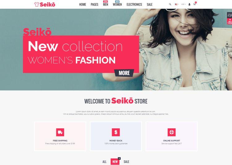 seiko-premium-html-template