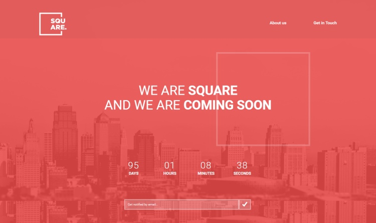 square-premium-under-construction-page-template