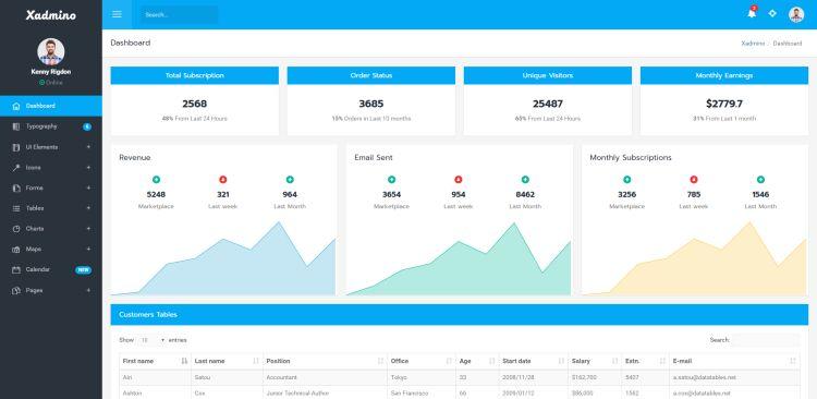 xadmino-premium-admin-template