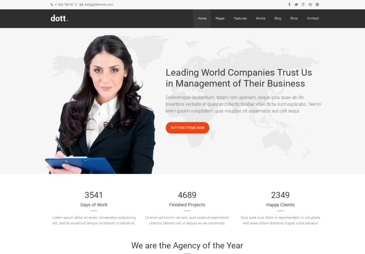 Dott – Business WordPress Theme