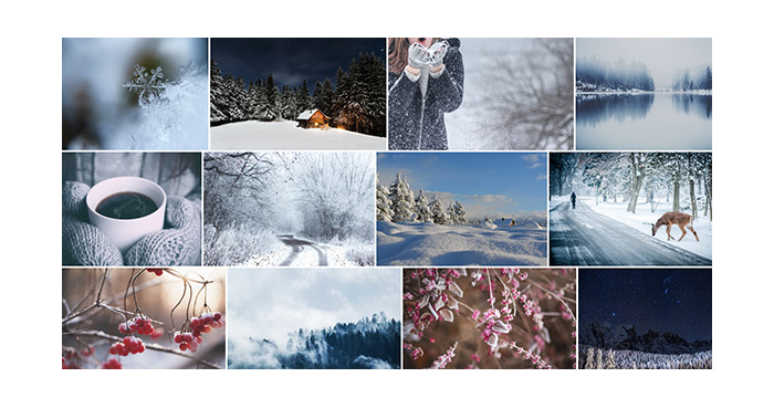 Magic Winter Stock Photos for Your Designs (Free + Premium)