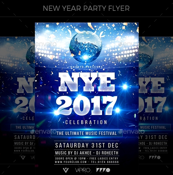 New Year Party Flyer1