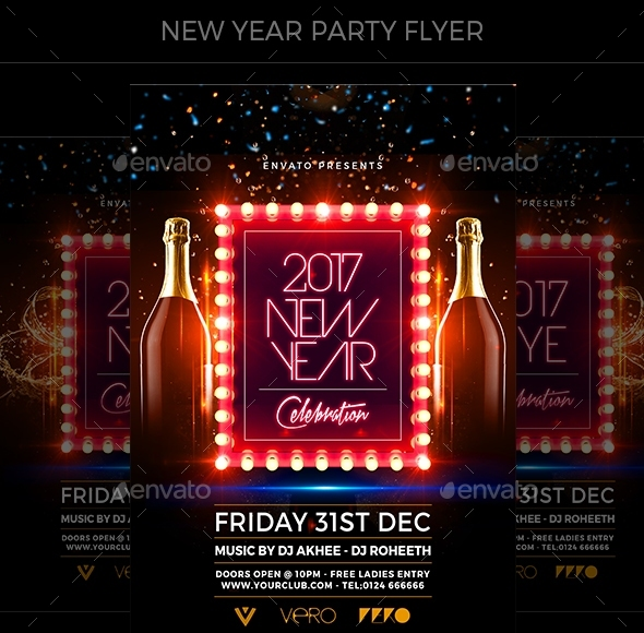 New Year Party Flyer2