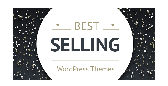 The Best Selling WordPress Themes for the End of 2016