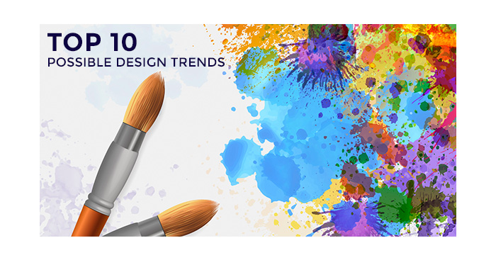 Top 10 Possible Design Trends for 2017