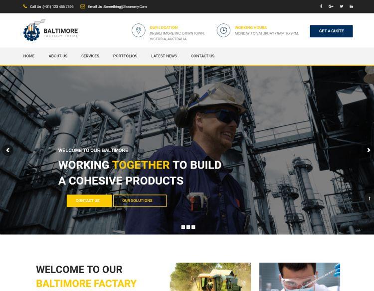 baltimore-factory-premium-wordpress-theme