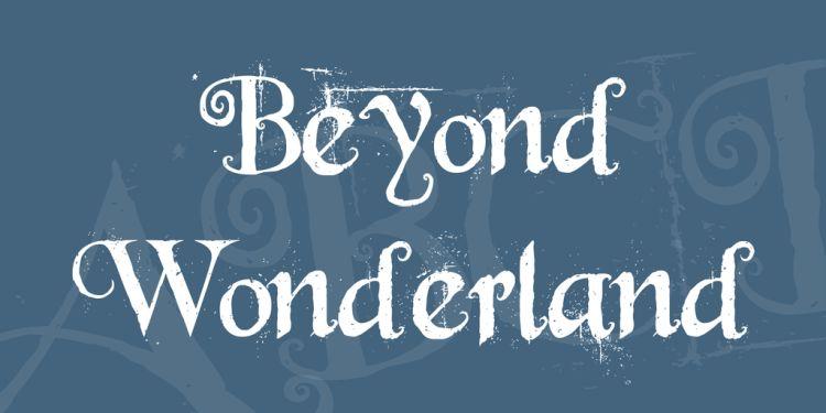 beyond-wonderland-font