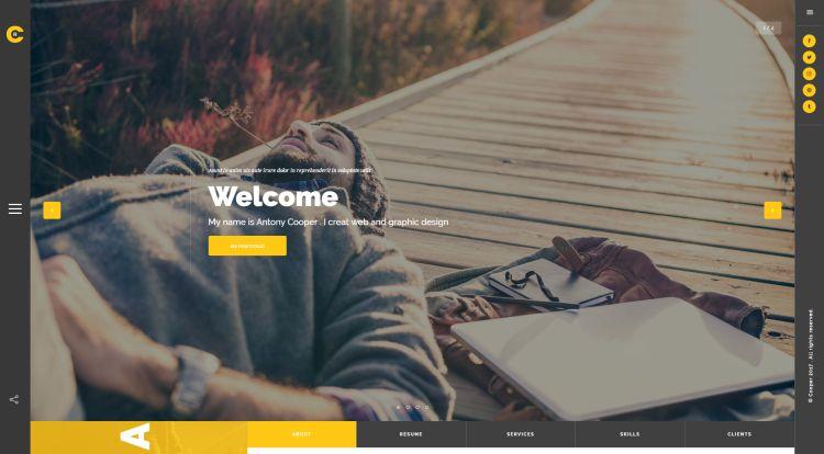 cooper-premium-html-template
